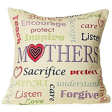 Comfort Love For Mom-cushion 12x12 inches