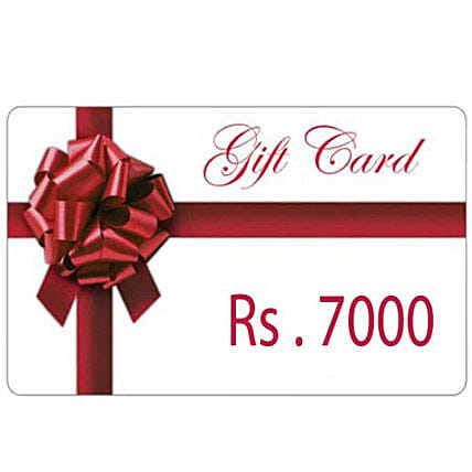 celebration will be extra-special-Gift Card Rs.7000