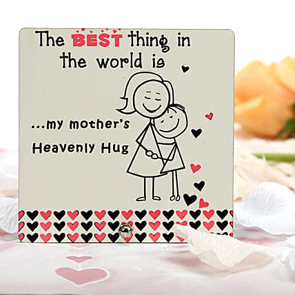Heavenly Hug Plaque-1 heavenly hug plaque:Plaques Gifts