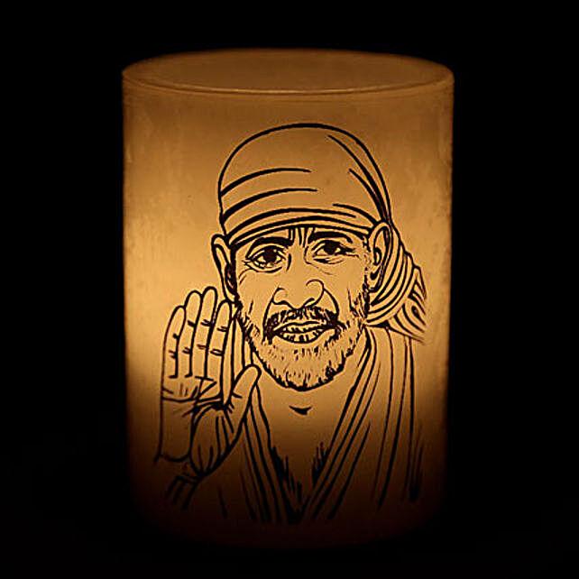 Sai Baba Candle-Your gift contains sai baba candle