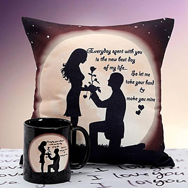 You are Mine Cushion n Mug