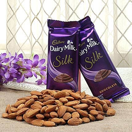 Chocolates and dry fruits hamper
