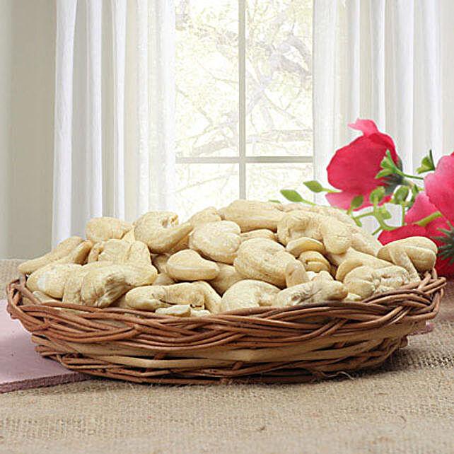 Basket full of cashews