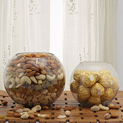 Dry fruits and chocolates:Dry Fruit