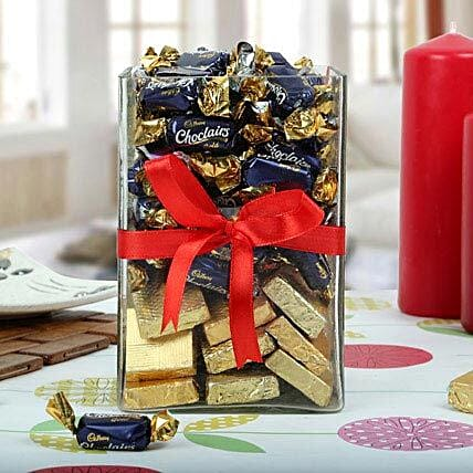 Handmade Chocolates and Candy as Gift
