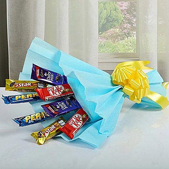 Mixed Chocolate Bar Bouquet