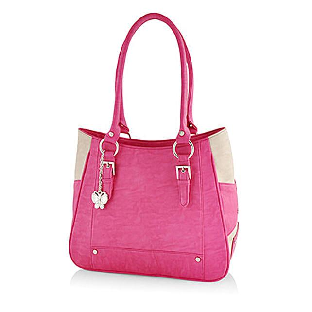 Exotic Pink Handbag