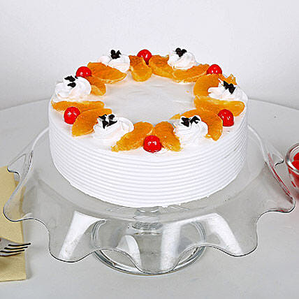 Fruit Cake 1 kg Eggless:Gifts Delivery In Asaoti - Faridabad