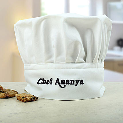 Personalized Chefs Hat