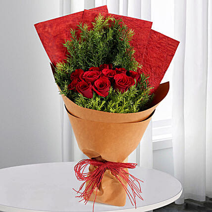 Red Roses Bouquet Online