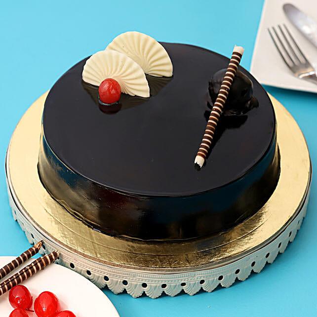 Exotic Chocolate Cream Cake 1kg Eggless