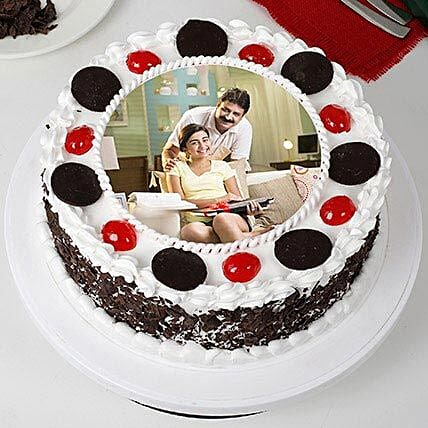 Black forest Cake for father's day:Photo Cakes For Father's Day
