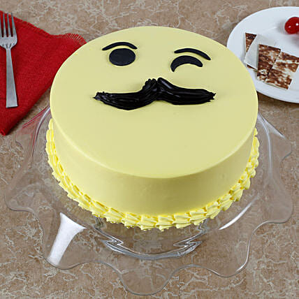 Tasty Cream Cake for Fathers Day Truffle Cake 1kg