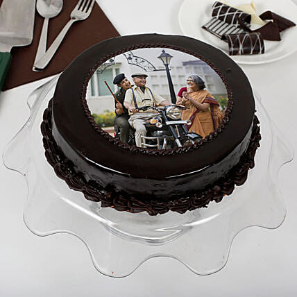 Chocolate cake for father's day