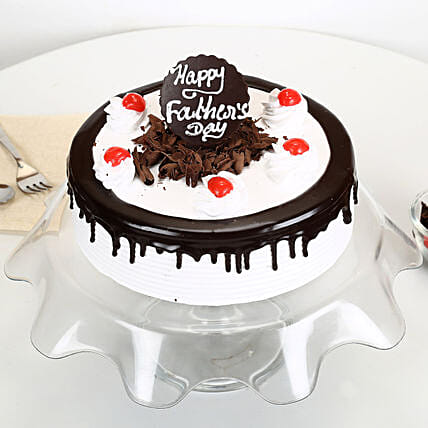 Black Forest Fathers Day Cake 2kg Eggless
