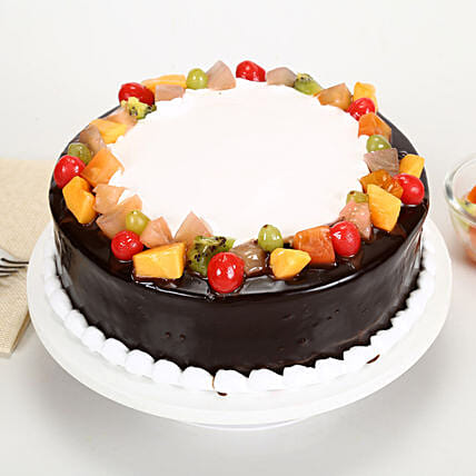 Wild Forest Cake 1kg Eggless
