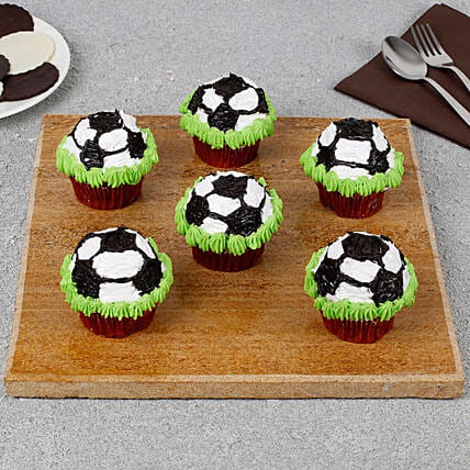 Football Cupcakes Online FIFA Worldcup world cup