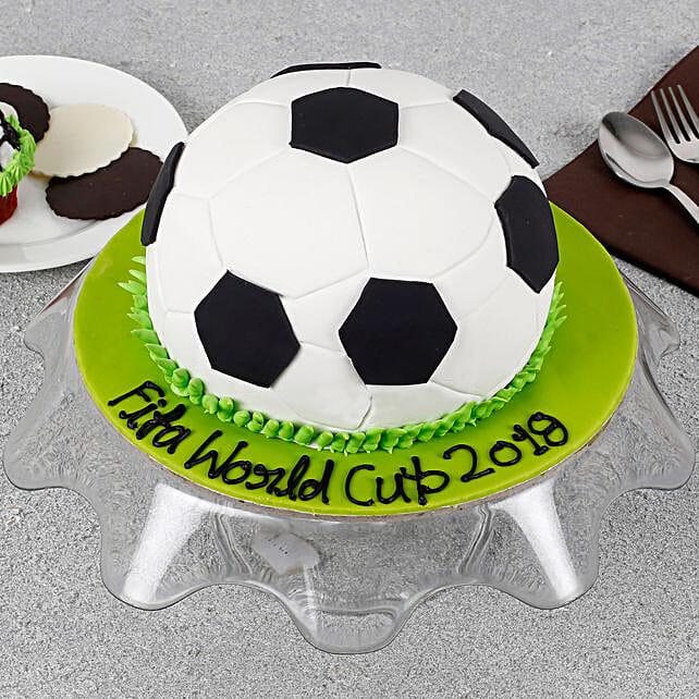 Football Special Birthday Cake 2kg Eggless
