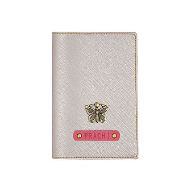 Glitter rose gold Passport cover