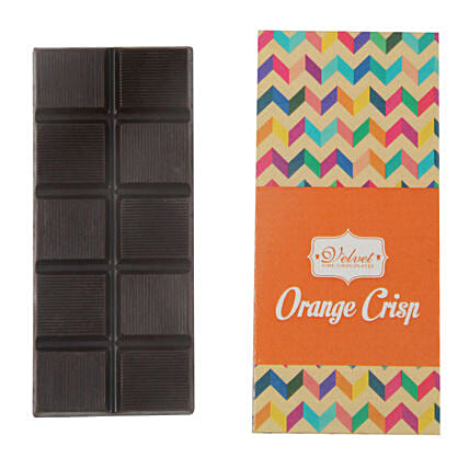 Chocolate Bar Orange And Crunchy