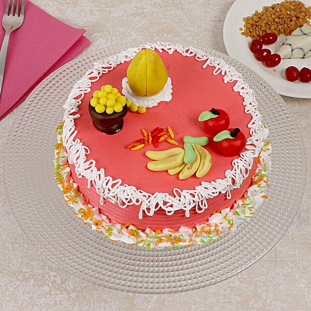 Ganesh Chaturthi Vanilla Cake Half Kg