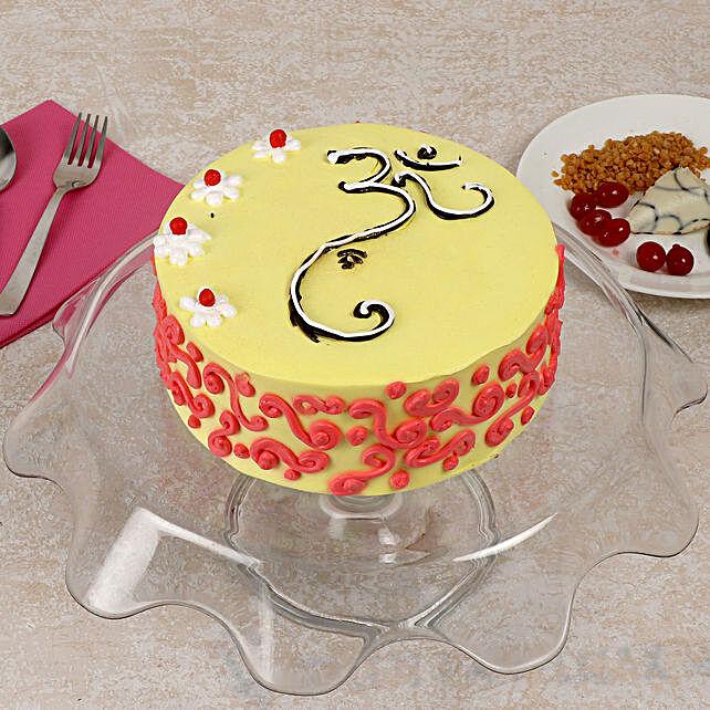 Traditional Vanilla Cake Half Kg