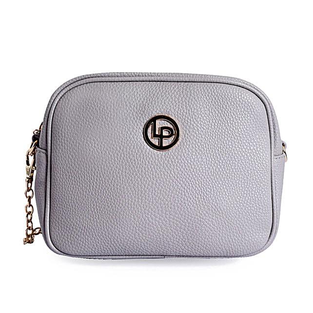 Lino Perros Chic Sling Bag- Grey