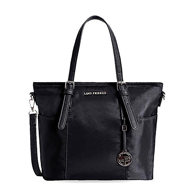 Lino Perros Classy Black Handbag