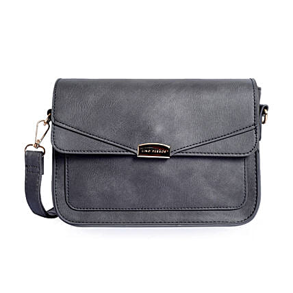 Lino Perros Modish Sling Bag- Grey
