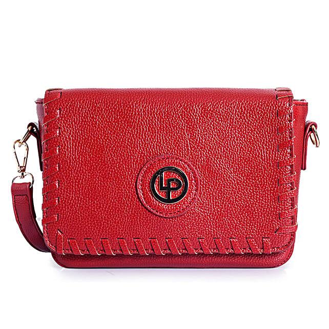 Lino Perros Sling Bag- Red