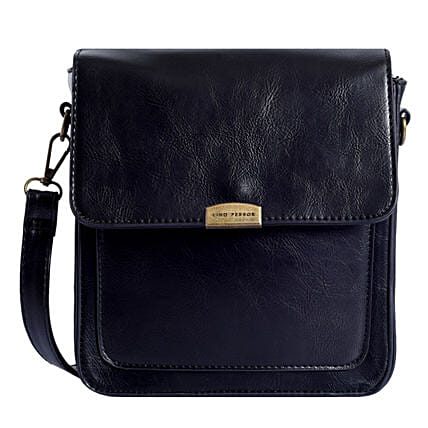 Lino Perros Useful Black Sling Bag