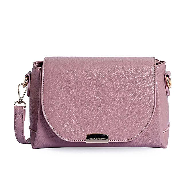 Lino Perros Womens Pink Sling Bag