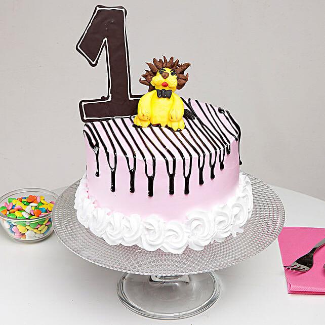 First Birthday Truffle Cake 1 Kg