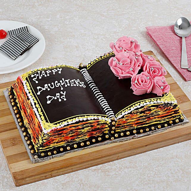 Notebook Chocolate Cake 2 Kg Eggless