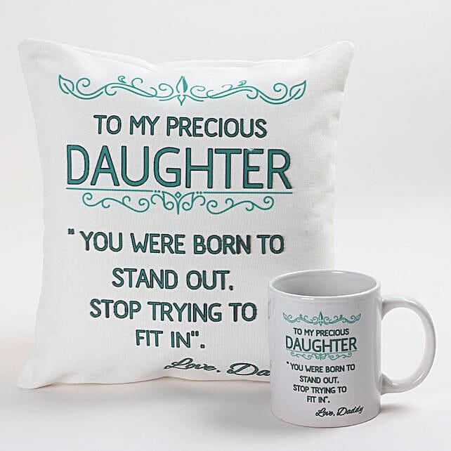 Inspirational Cushion & Mug Combo