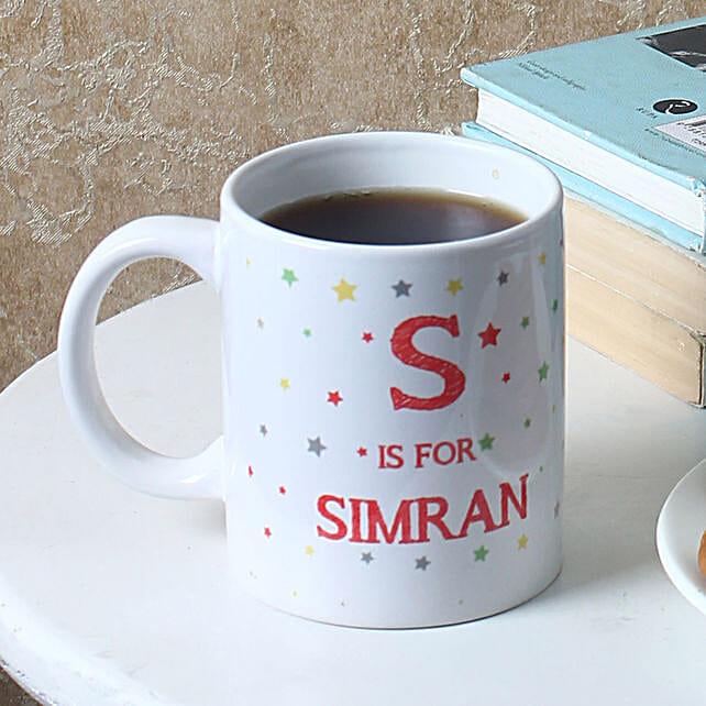 name printed mug for daughter day