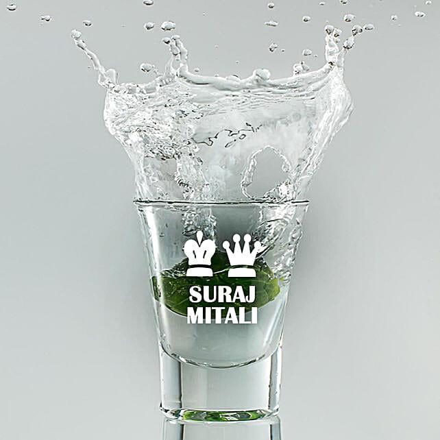 Shot Glass:Personalised Glassware
