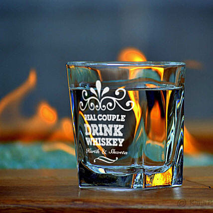 Whiskey Glass:Personalised Glassware