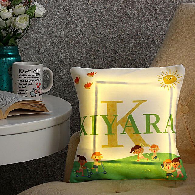 printed led cushion online:Personalised Led-cushions