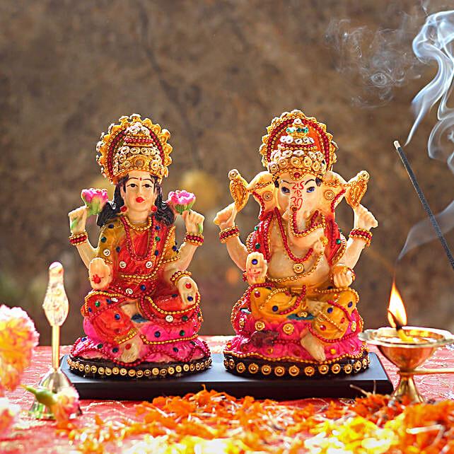 Lakshmi Ganesh Idol For Diwali