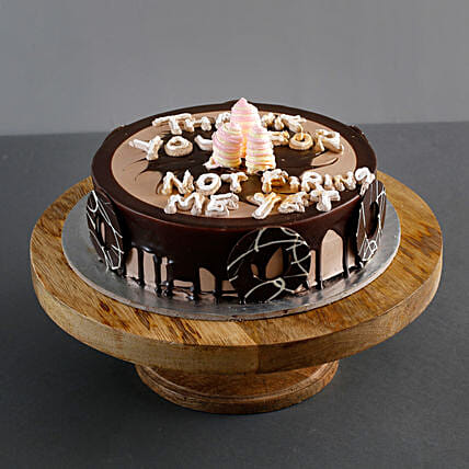 Delicious Boss Day Truffle Cake Half Kg