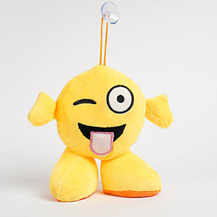 Wink Emoji Soft Toy Hanging