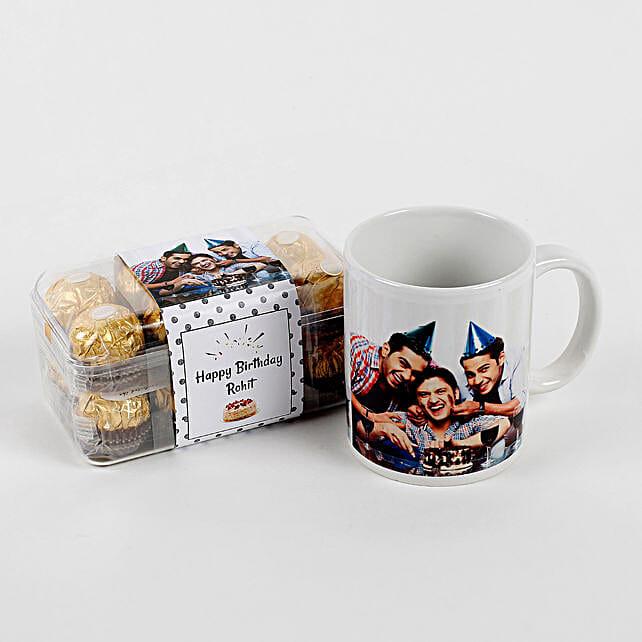 Combo Coffee mug with Chocolate