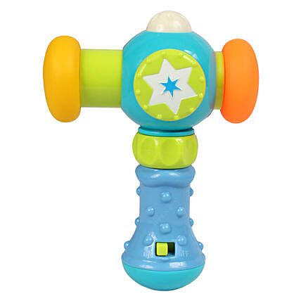 Toy Hammer With Light For Kids