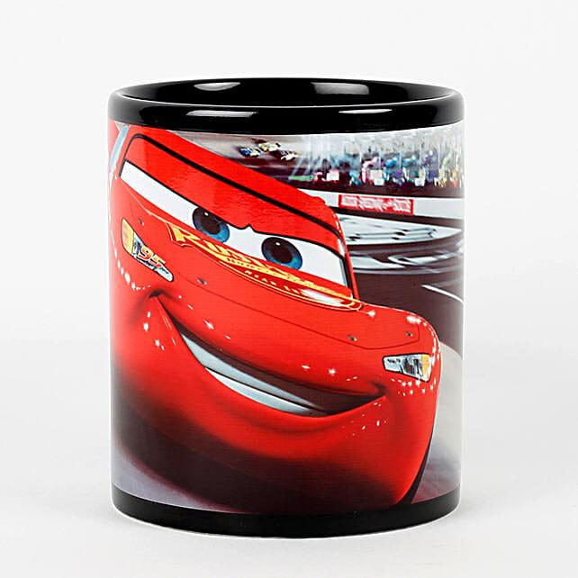 Black Super Car Printed Mug