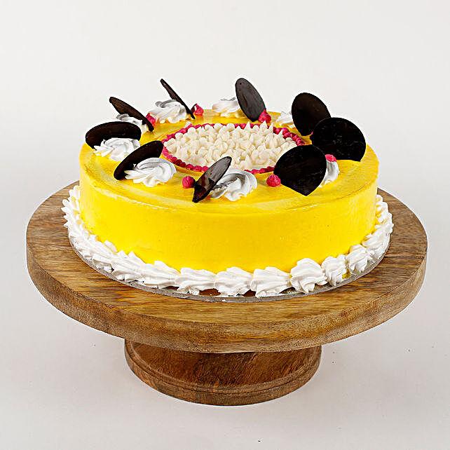 Choco Coin Pineapple Cream Cake- Half Kg