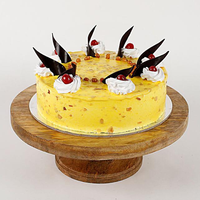 Choco Lavash Cherry Pineapple Cake- Half Kg Eggless