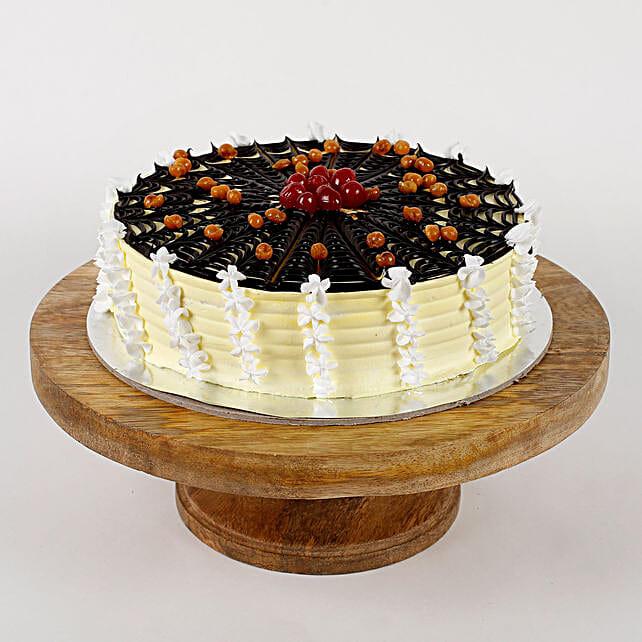 Choco Spiral Cream Strawberry Cake- 2 Kg Eggless