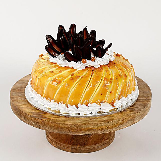 Glaze Cream Pineapple Cake- 1 Kg