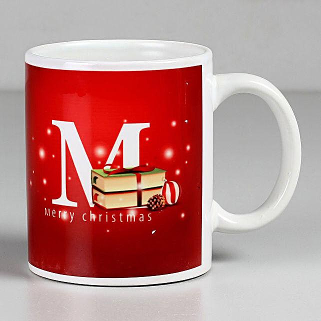 Red Merry Christmas Mug